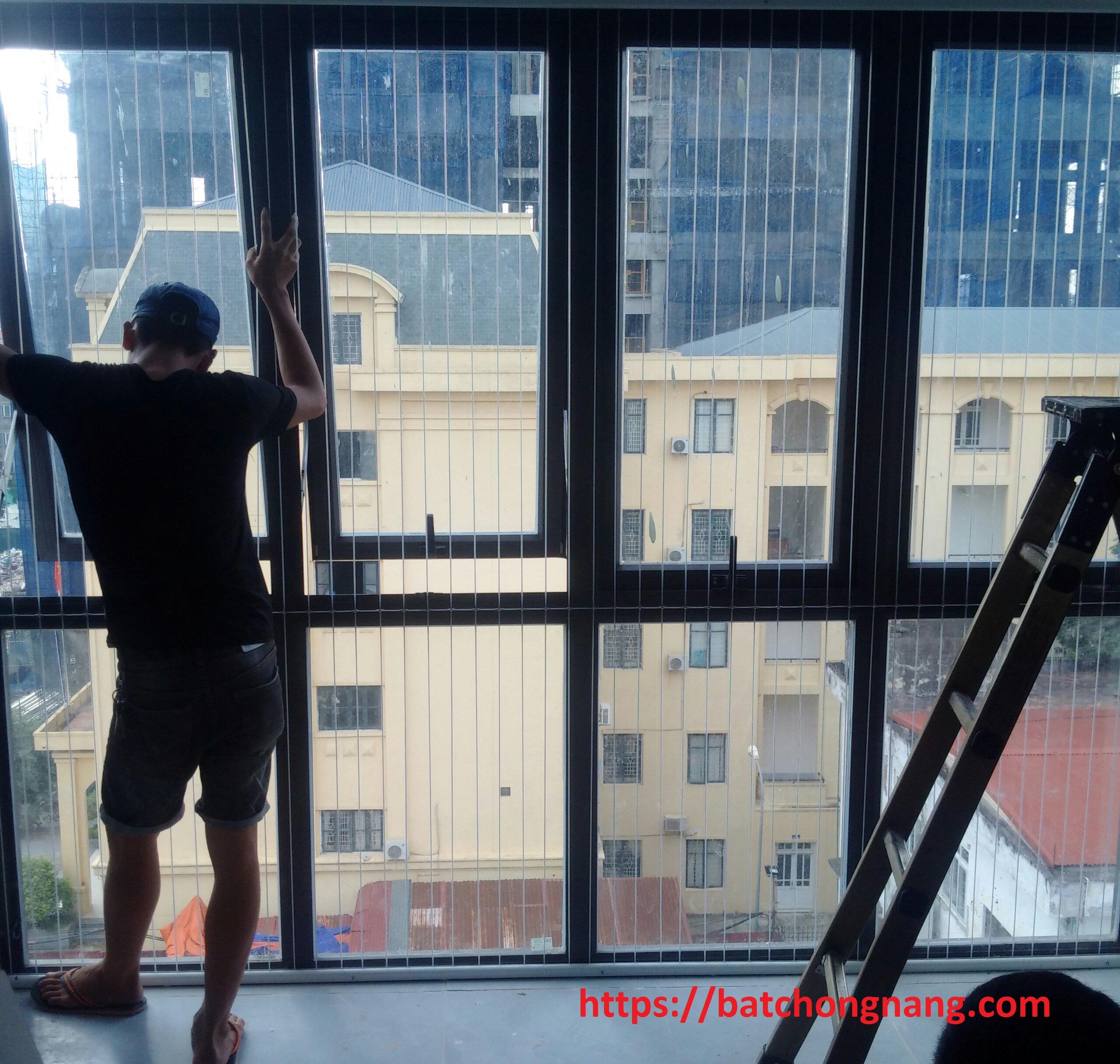 thi công lưới an toàn cửa sổ