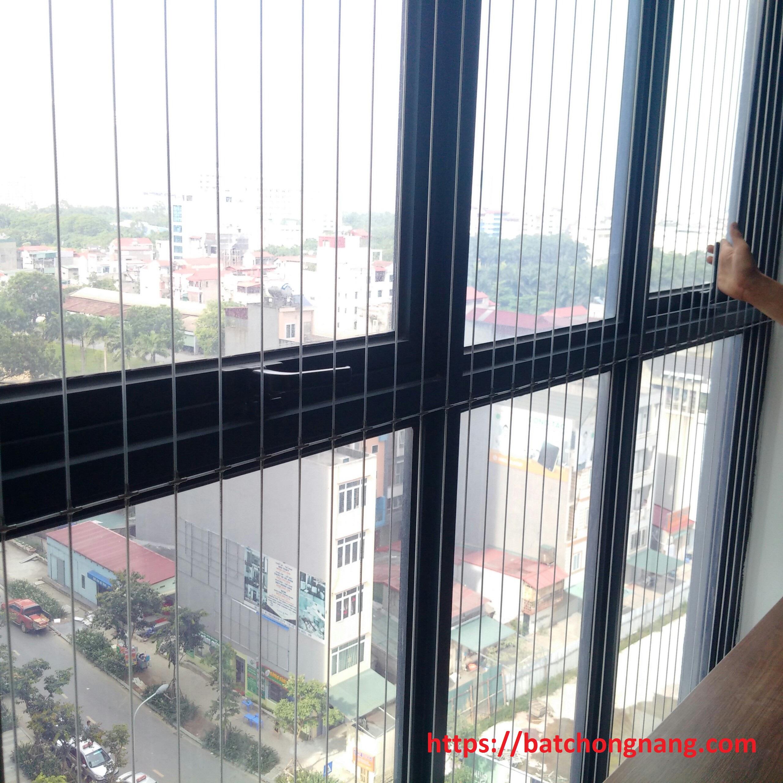 lưới an toàn cửa sổ hòa phát