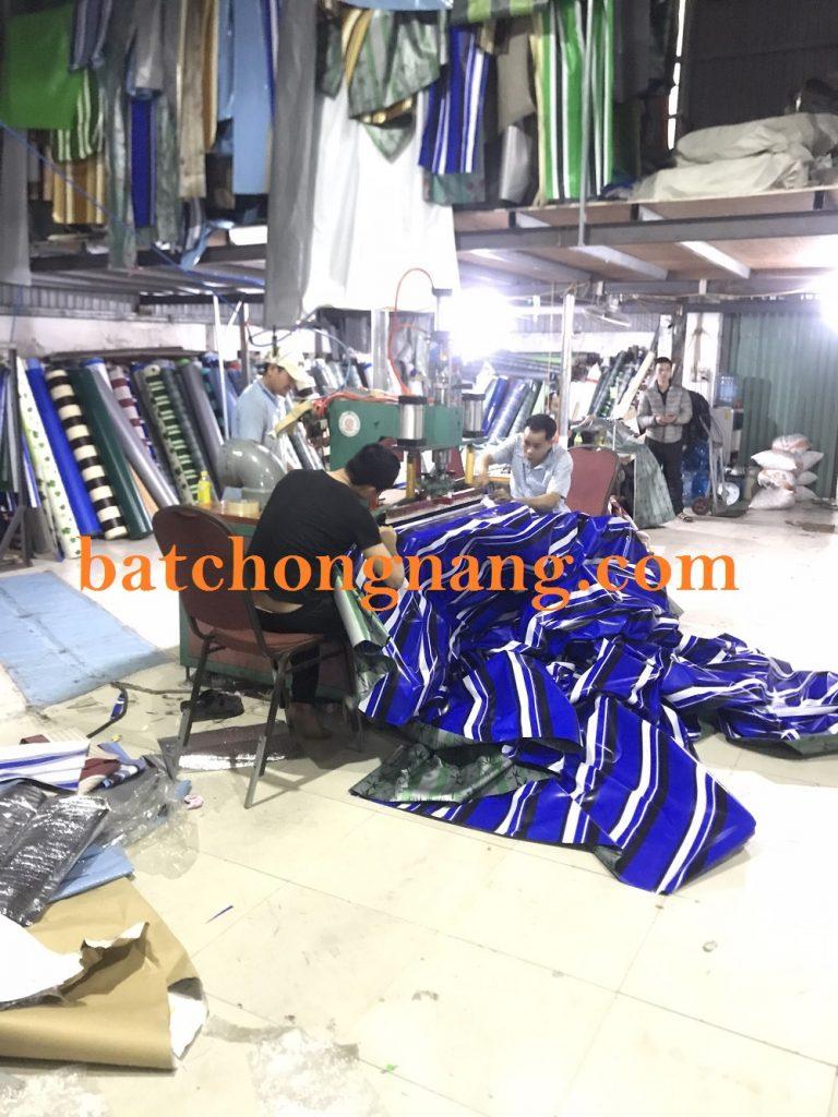 xưởng sản xuất bạt che nắng